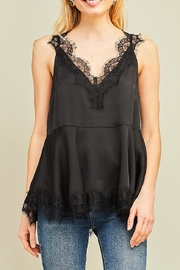 Entro Eyelash Lace-Trim Camisole - Product Mini Image