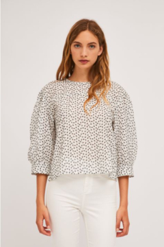 Compania Fantastica Eyelet Blouse - Alternate List Image
