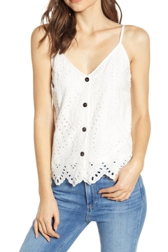 Bishop + Young Eyelet Buttonup Cami - Product List Image