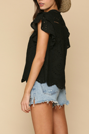 By Together  eyelet detailed Top - Front full body