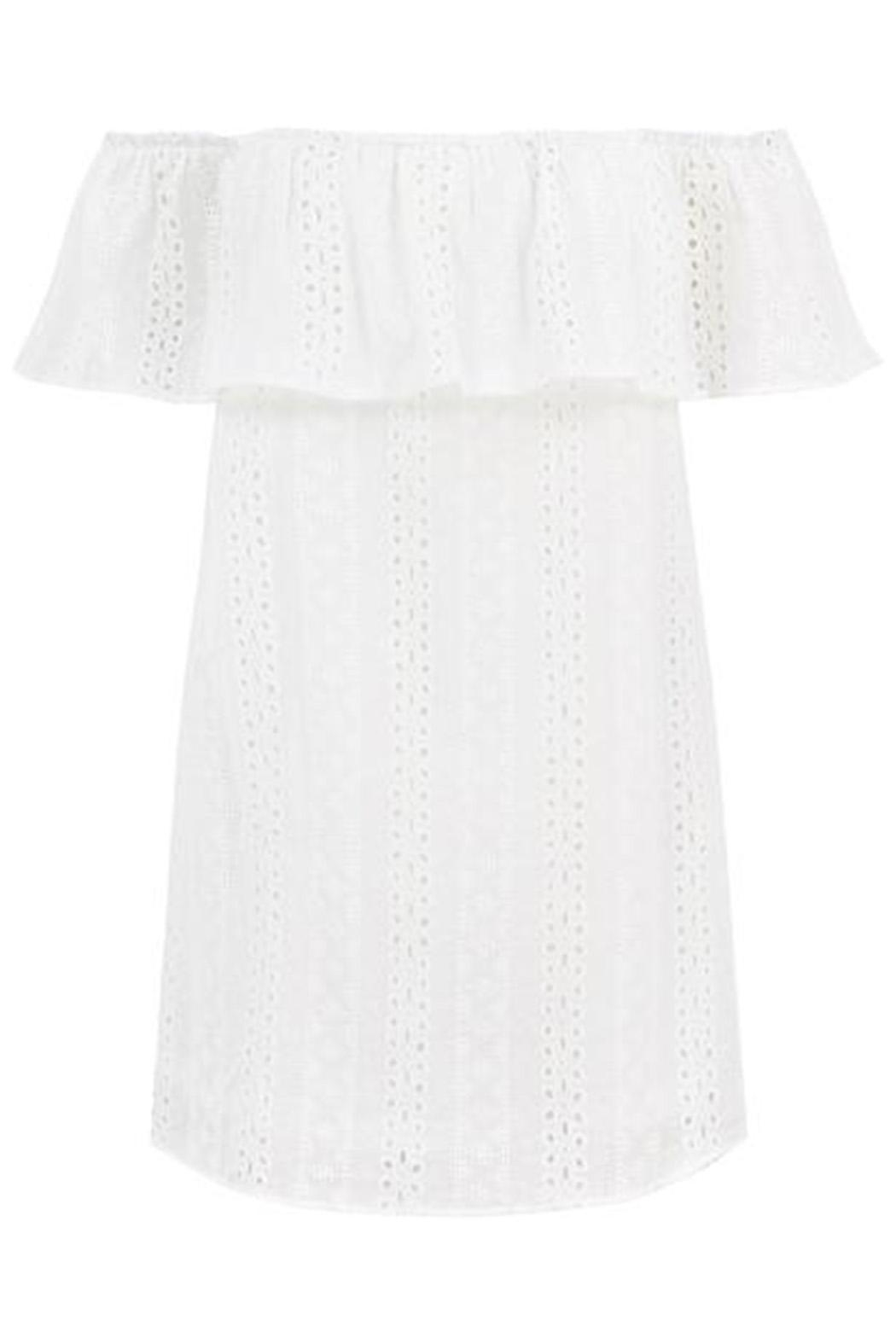Bishop + Young Eyelet Dress - Front Cropped Image