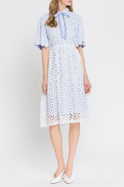 English Factory Eyelet Dress - Product Mini Image
