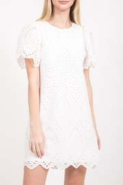 Very J  Eyelet Lace Dress - Product Mini Image