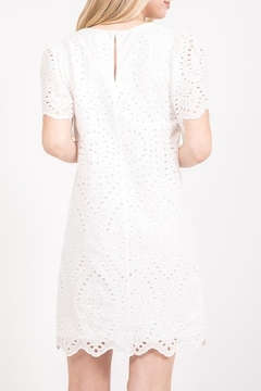 Very J  Eyelet Lace Dress - Alternate List Image