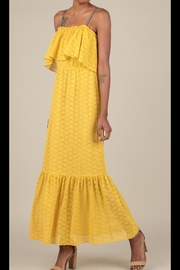 Current Air Eyelet Lace Dress - Product Mini Image
