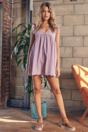 Mustard Seed  Eyelet Lace Romper - Other