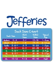 Jefferies Socks Eyelet Lace Socks - Front full body