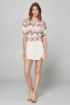 hummingbird Eyelet Lace Top - Product List Image