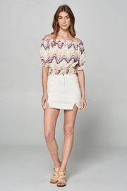 hummingbird Eyelet Lace Top - Product Mini Image