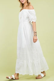 Pretty Little Things Eyelet Maxi Dress - Product Mini Image