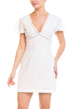 Mystic Eyelet Mini Dress - Product List Image