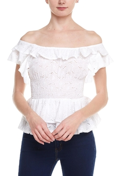 Shoptiques Product: Eyelet Ots Top