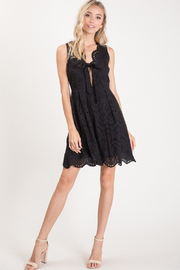 R+D  Eyelet Scallop Tie Dress - Other