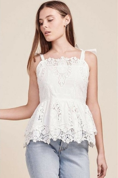 BB Dakota Eyelet Top - Product List Image