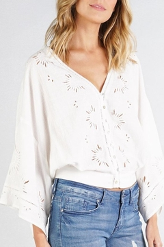 Lovestitch Eyelet Top - Product List Image