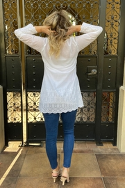 Apparel Love eyelet tunic - Side cropped