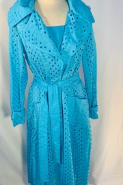 Samuel Dong Eyelet Turquoise jacket set - Product Mini Image