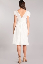 Verty Eyelet White Midi - Other