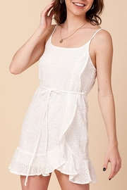 Favlux Eyelet Wrap Dress - Product Mini Image