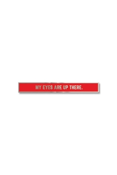 Easy Tiger Eyes Here Tie-Bar - Product List Image