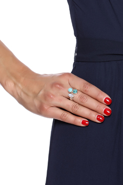 Shoptiques Product: Gemstone Sterling Ring