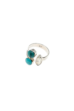 Eyes of the World Imports Gemstone Sterling Ring - Product List Image