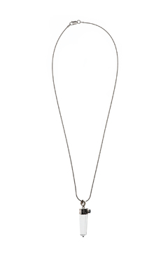 Shoptiques Product: Sterling Crystal Pendant