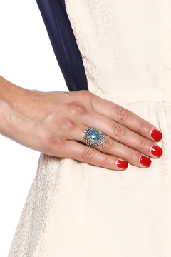 Shoptiques Product: Sterling Opal Ring