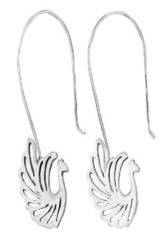 Shoptiques Product: Sterling Bird Earrings