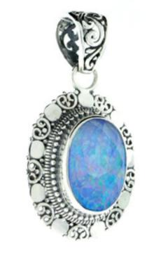 Eyes of the World Imports Twlight Opal Pendant - Alternate List Image
