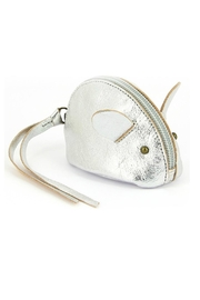 ezpz Silver Mouse Purse - Product Mini Image