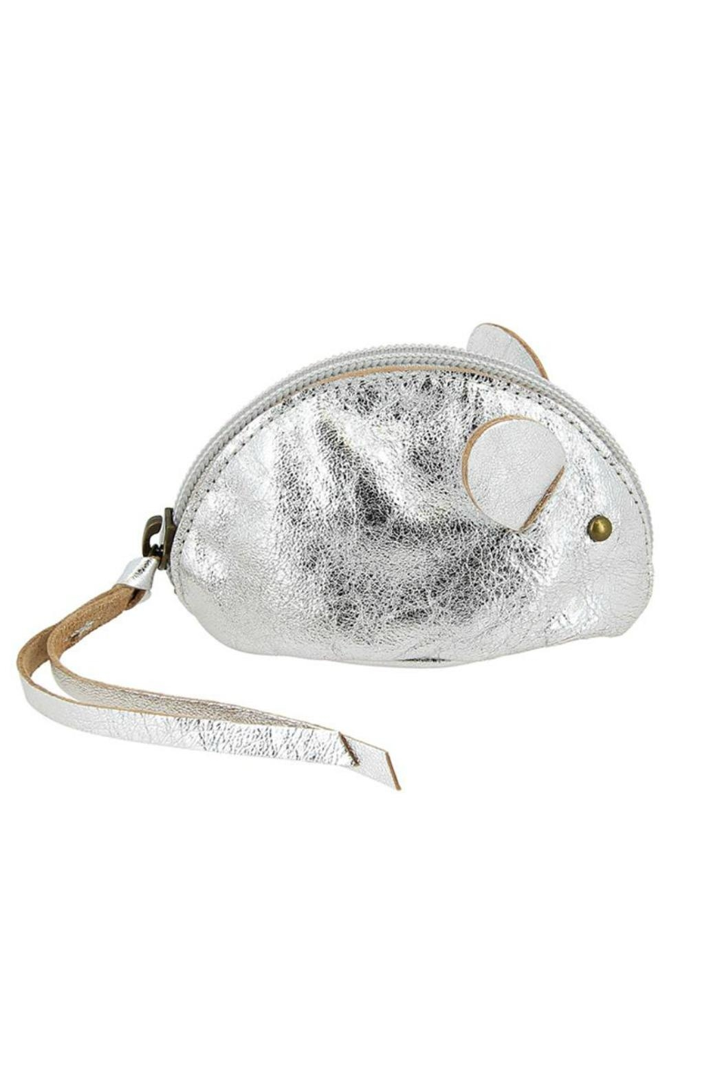 ezpz Silver Mouse Purse - Front Full Image
