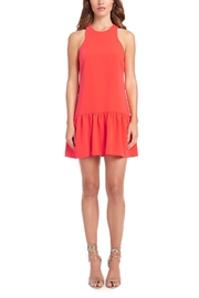 Amanda Uprichard Ezra Ruffle Hem Dress - Product Mini Image