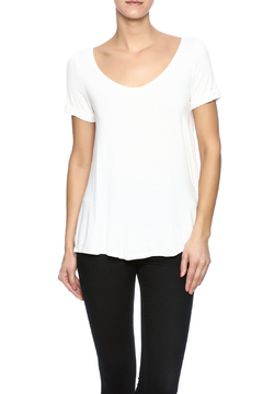 Ezra White Loose Top - Product List Image