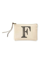 MUDPIE F Cosmetic Bag - Front cropped