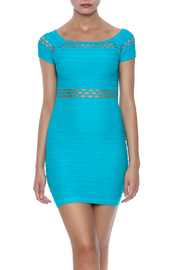 F $ F Turquoise Net Mini - Front cropped