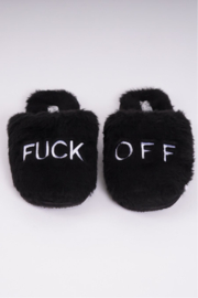 Los Angeles Trading Co.  F Off Bel Air Slippers - Product Mini Image