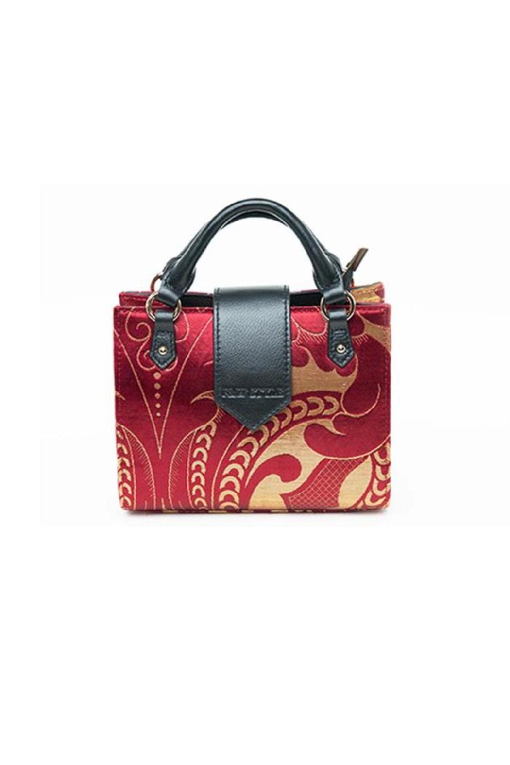 F&W STYLE Hand-Woven Bag - Main Image