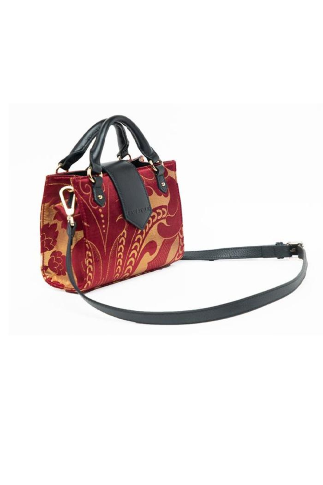F&W STYLE Hand-Woven Bag - Side Cropped Image