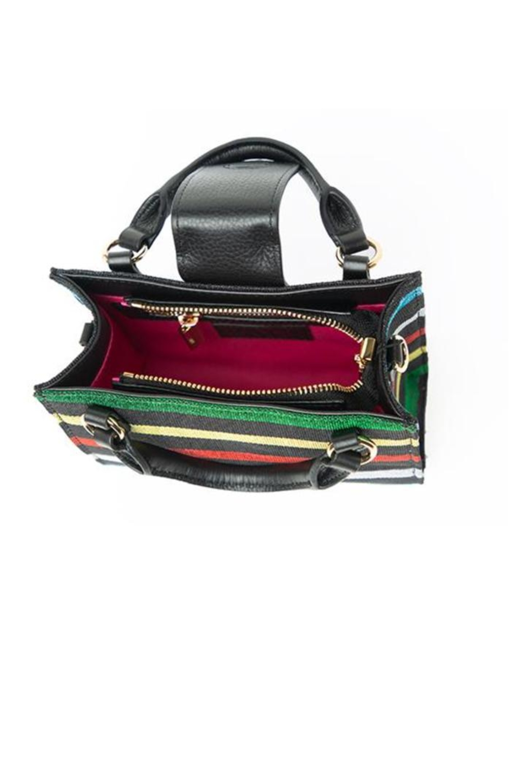 F&W STYLE Hand-Woven Bag - Front Full Image