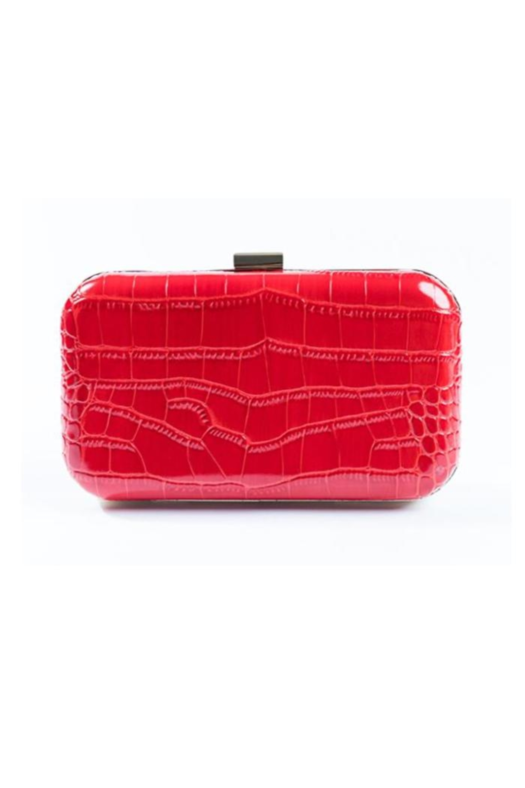 F&W STYLE Italian Leather Clutch - Main Image