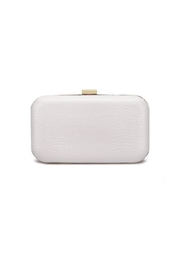 F&W STYLE Italian Leather Clutch - Front cropped