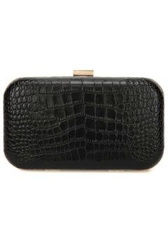 F&W STYLE Leather Rose Clutch - Product List Image