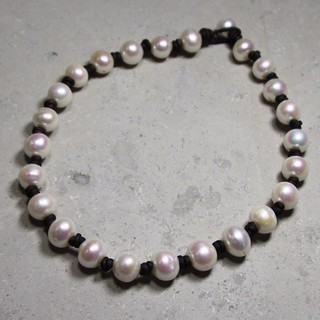 Shoptiques Product: 13-15mm pearls Necklace