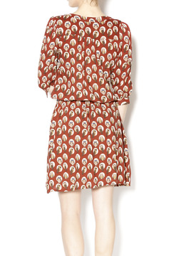 Shoptiques Product: Rusted Owl Dress