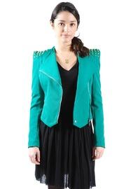 Shoptiques Product: Studded-Shoulder Jacket