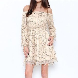 Shoptiques Off Shoulder Lace Dress