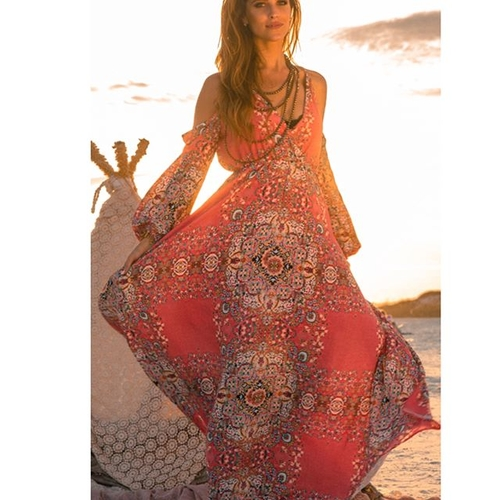 Unknown Factory Beach Boho Dress - Main Image