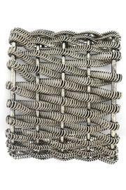 17 STREET Woven Spring Cuff - Other