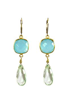 Melinda Lawton Jewelry Chalcedony Green Amethyst - Product List Image